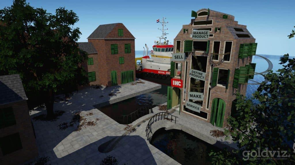 3d animatie rollercoaster
