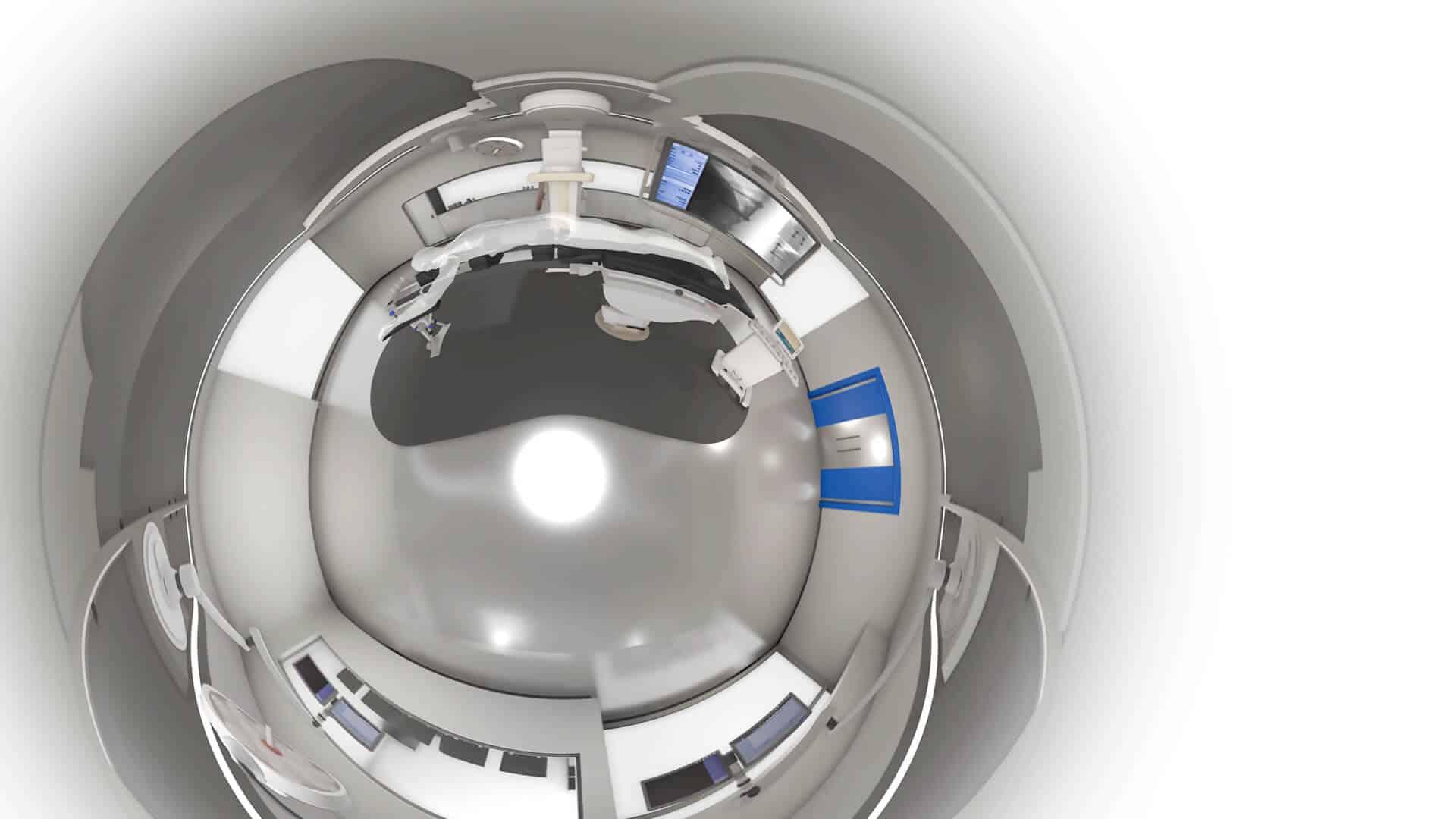 virtuele operatie kamer 360º.