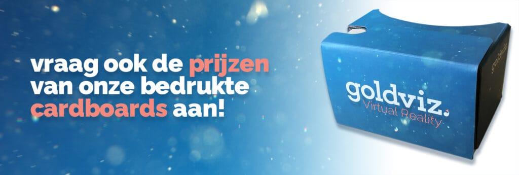 Call to action vraag ook de prijzen van onze bedrukte cardboards aan.